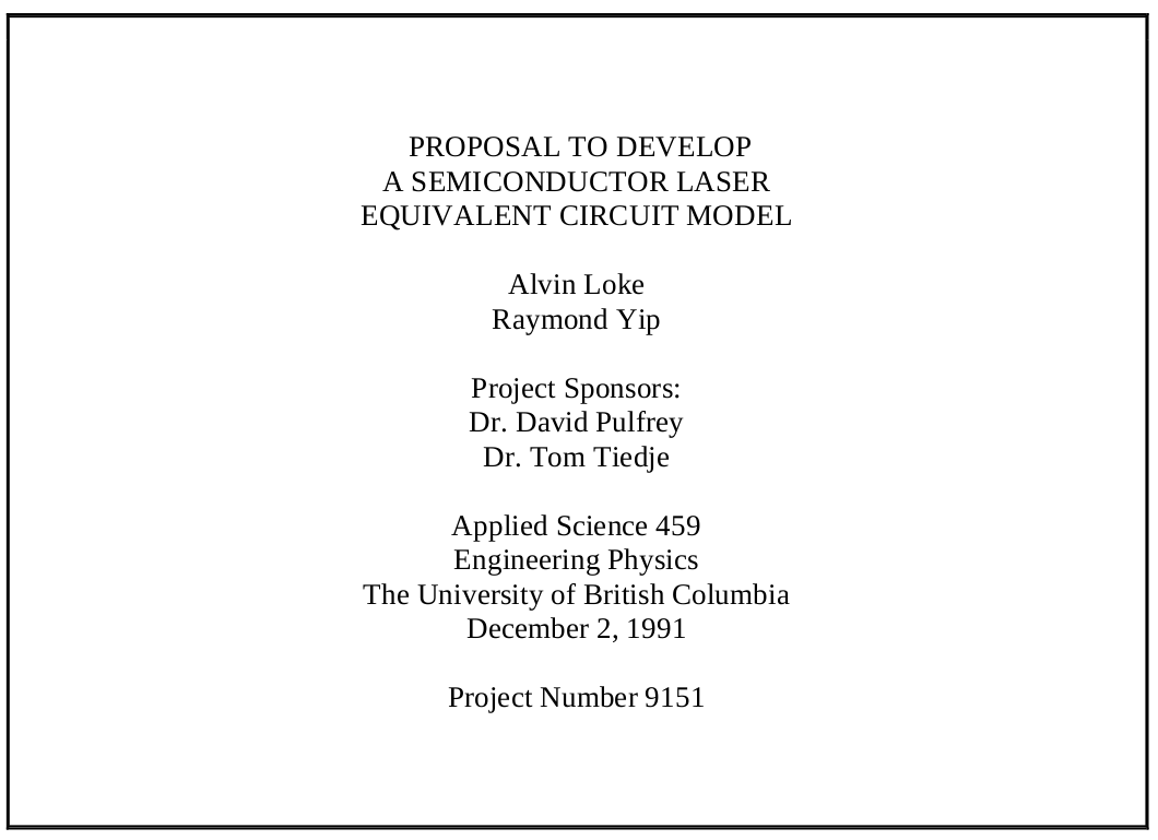 Sample Thesis Proposal | Design Thesis Proposal The Writing Center