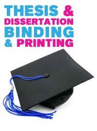 Online dissertation help binding