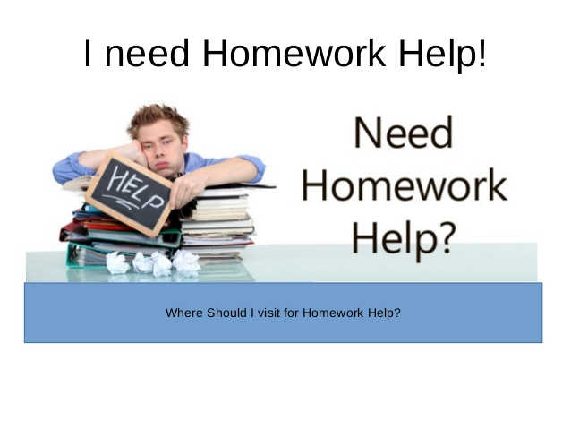 I need help with my homework online