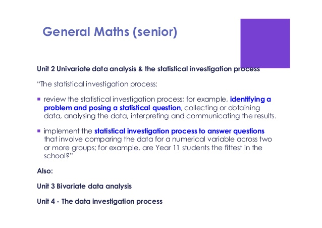 Statistical Investigation Questions The Writing Center