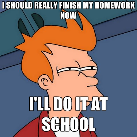 Why should i do my homework essay
