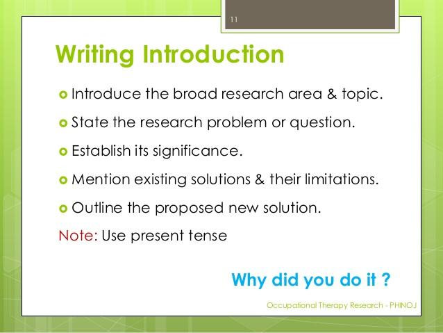 Dissertation preface write